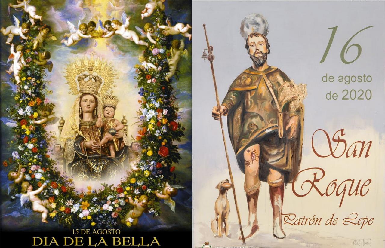 Presentados los carteles anunciadores de la Bella y San Roque en Lepe