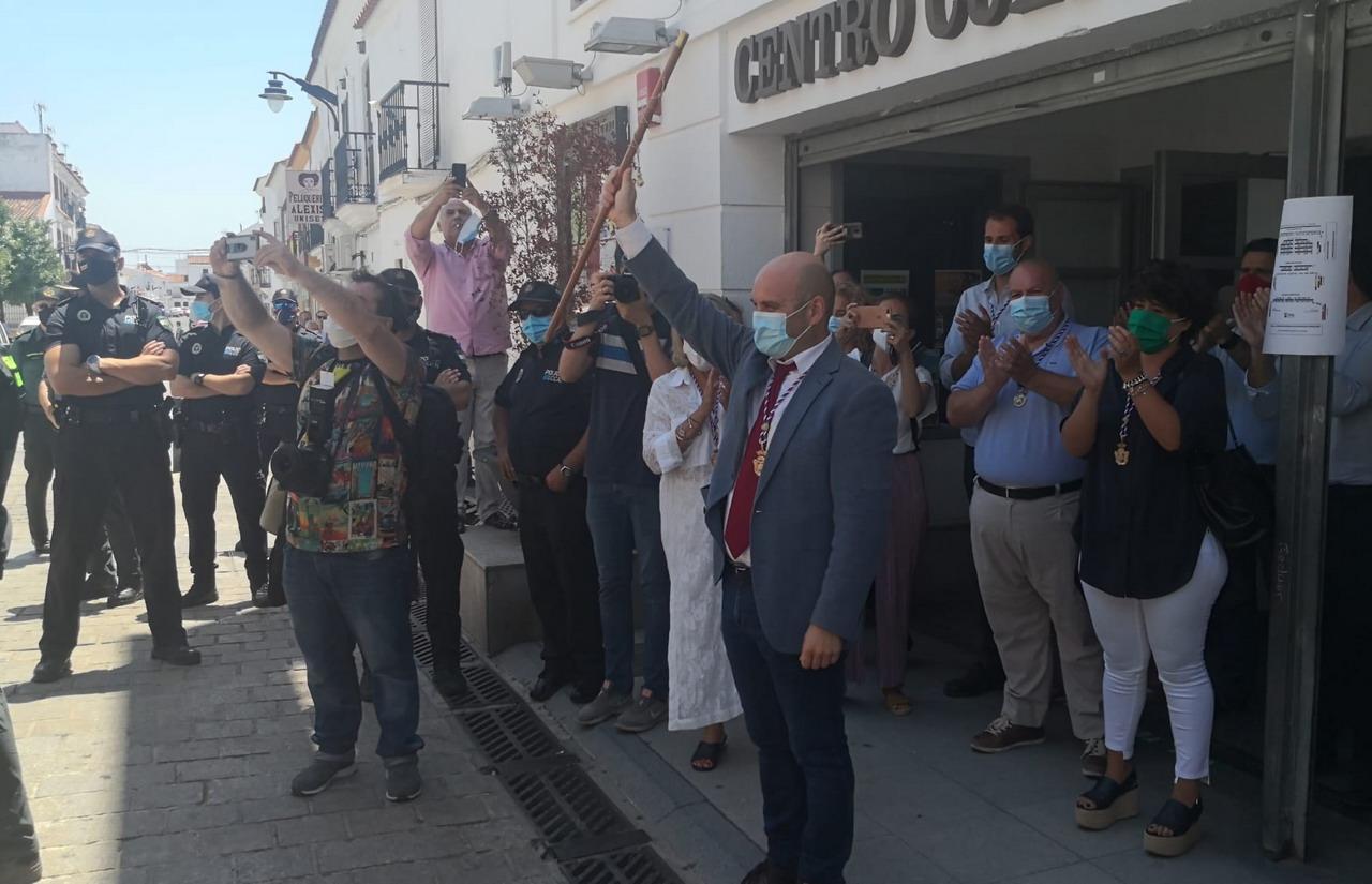 Alexis Landero nuevo Alcalde de Cartaya
