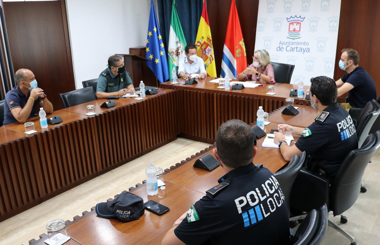 Cartaya cancela las Fiestas Patronales y Feria de Octubre, por unanimidad de la Comisión de Seguridad del COVID-19