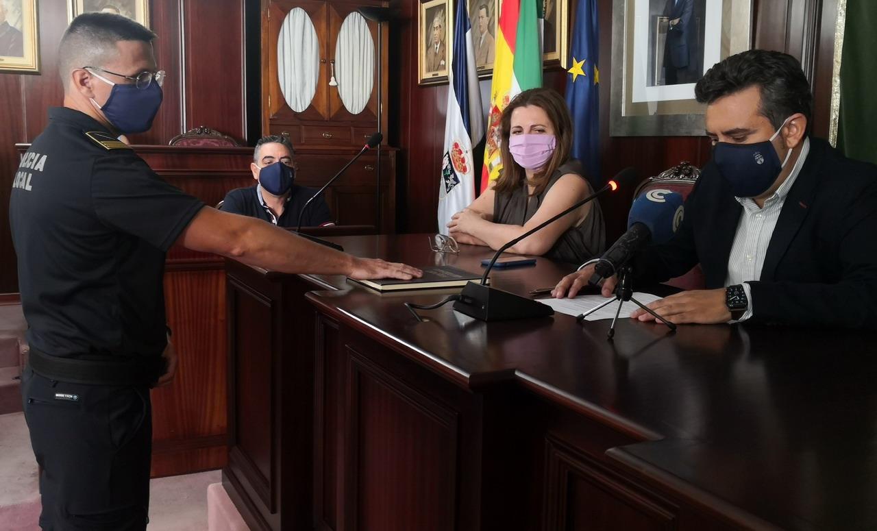 El nuevo Jefe de la Policía Local de Lepe ha tomado posesión del cargo