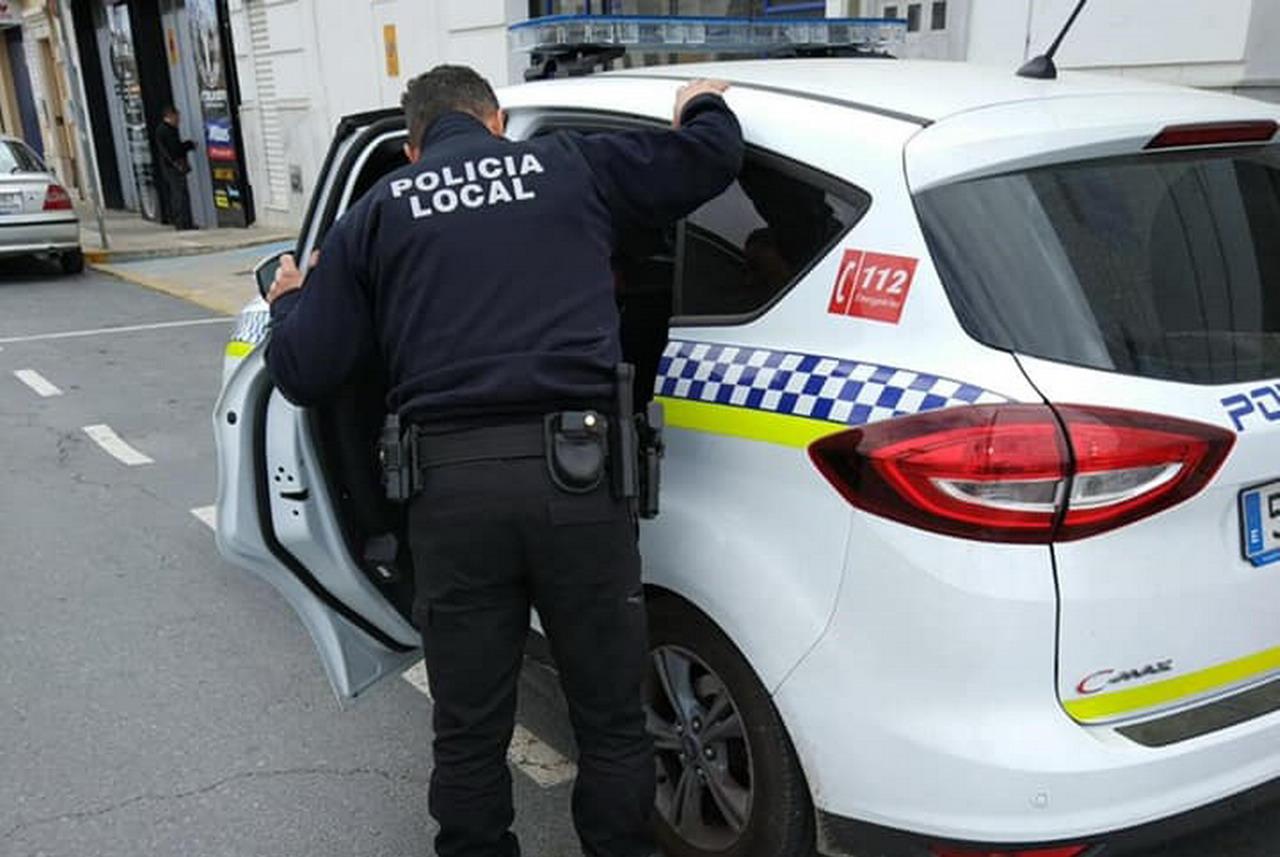 Diversas actuaciones de la Policía local
