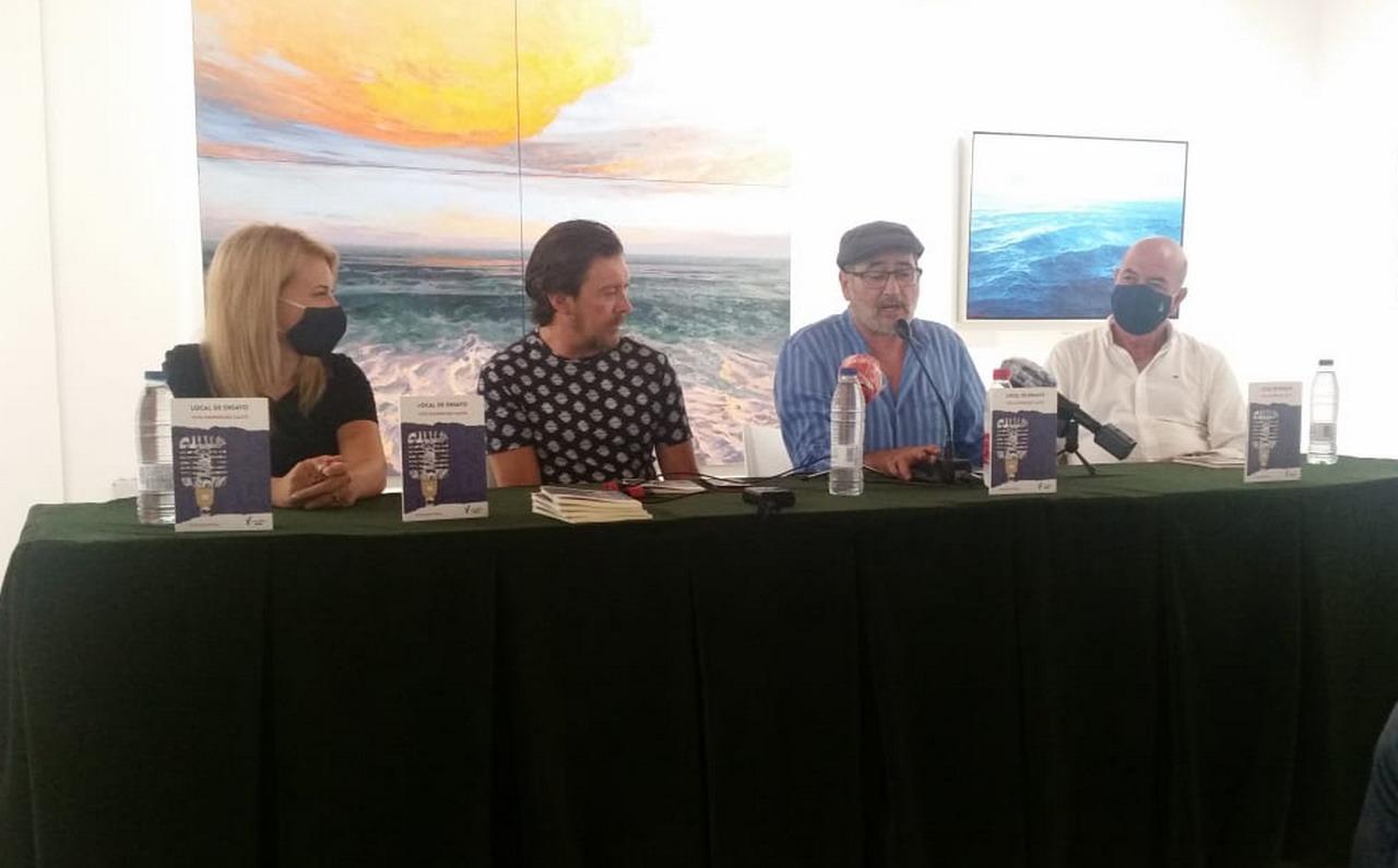 "Presentación del libro de poesía ""LOCAL DE ENSAYO"" de Vito Domínguez Calvo"