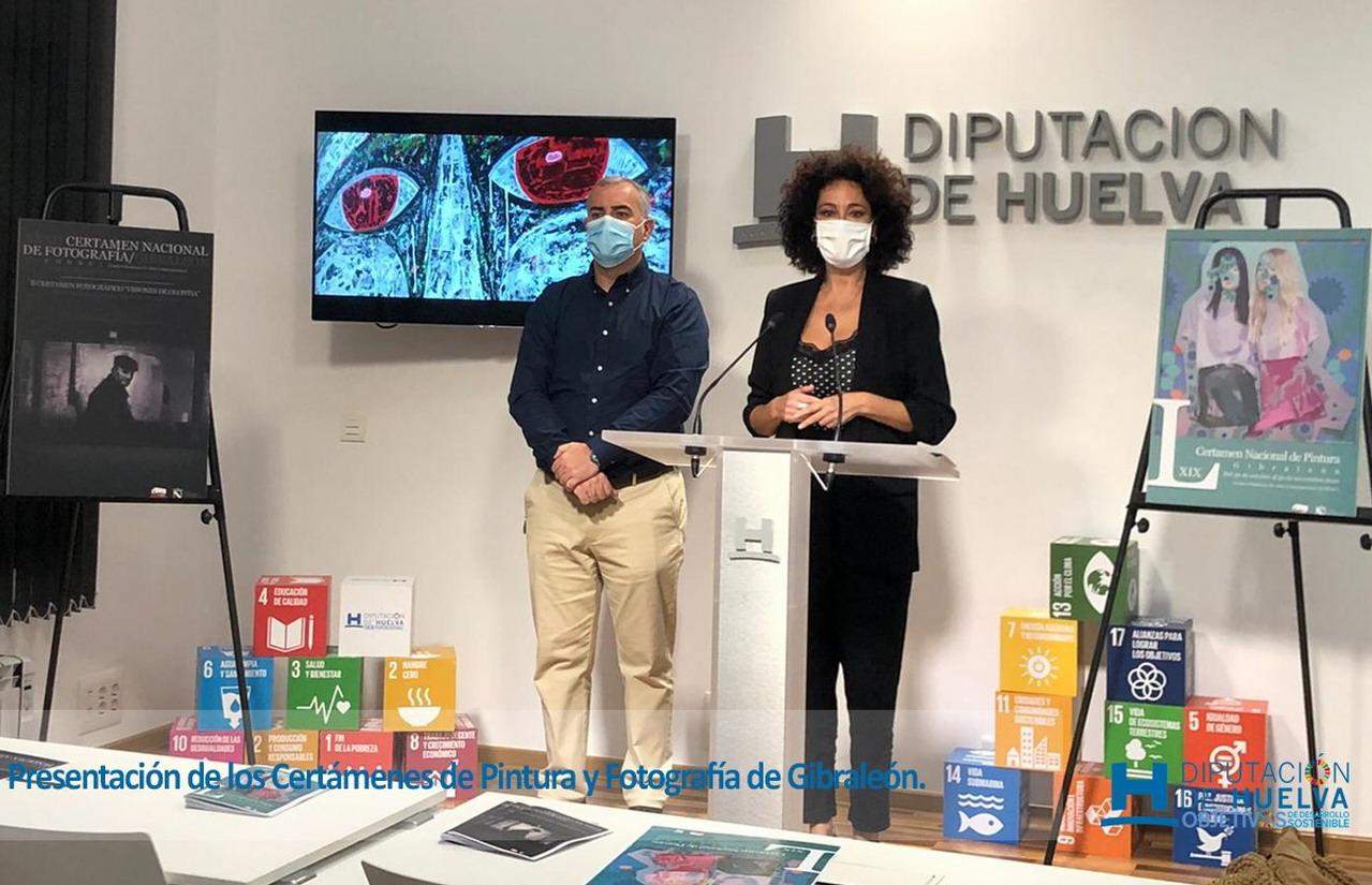 El LXIX Certamen Nacional de Pintura y el XXXII Certamen Nacional de Fotografía de Gibraleón se celebrarán por primera vez de manera virtual