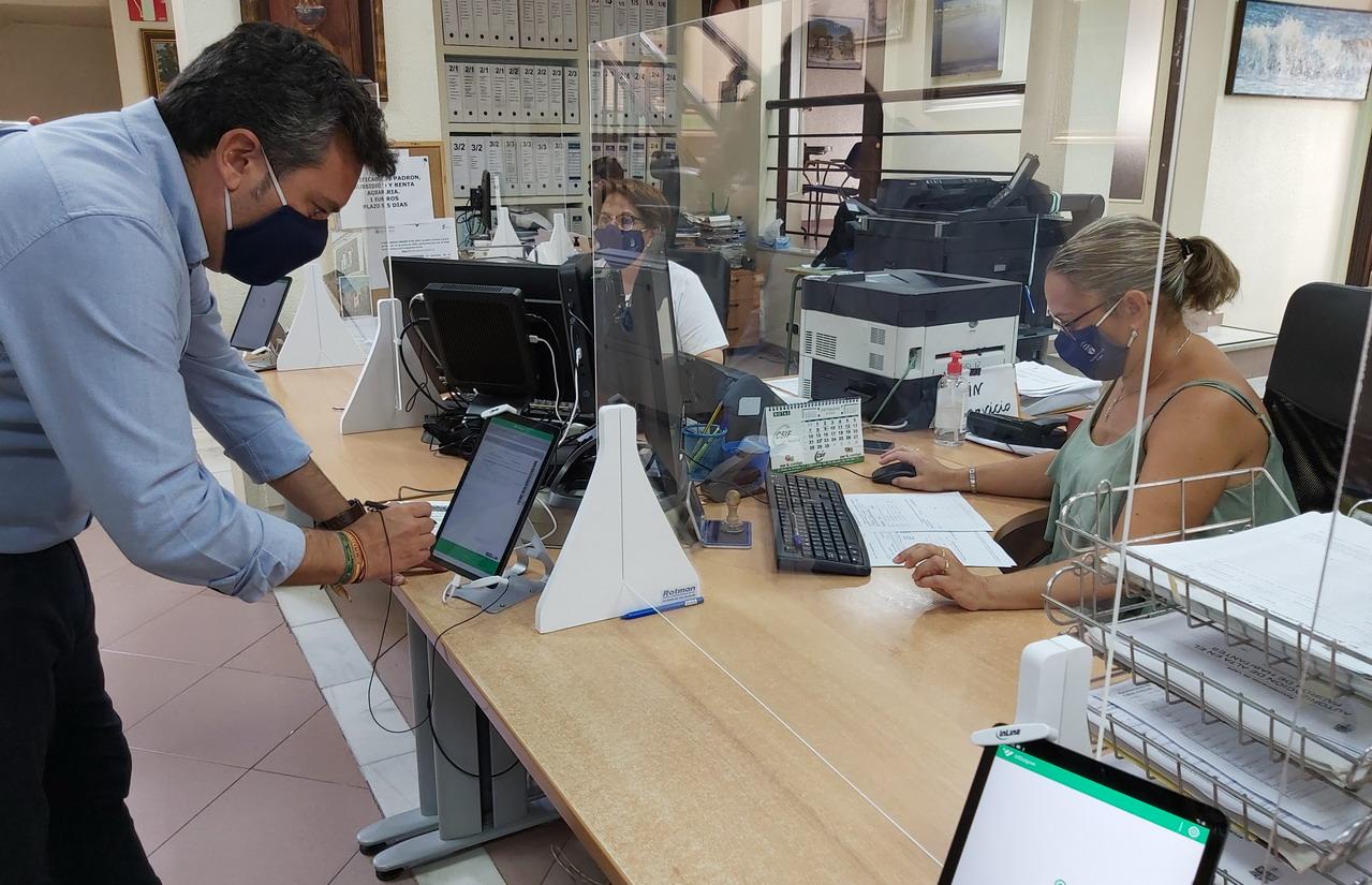 Lepe implanta con éxito la Firma Biométrica de documentos