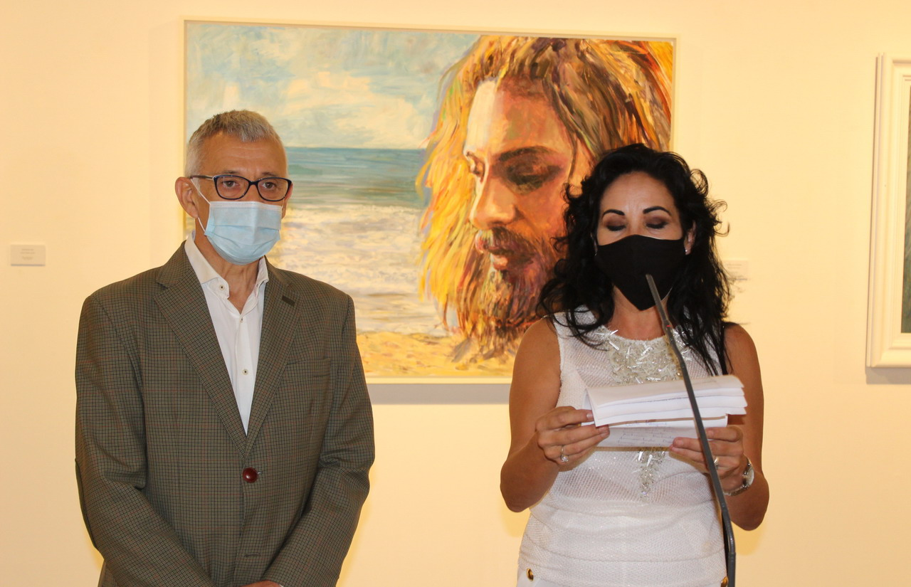 """Diputación inicia la nueva temporada de exposiciones en la Sala de la Provincia con pinturas de alumnos de la asociación """"Todos crean"""""""