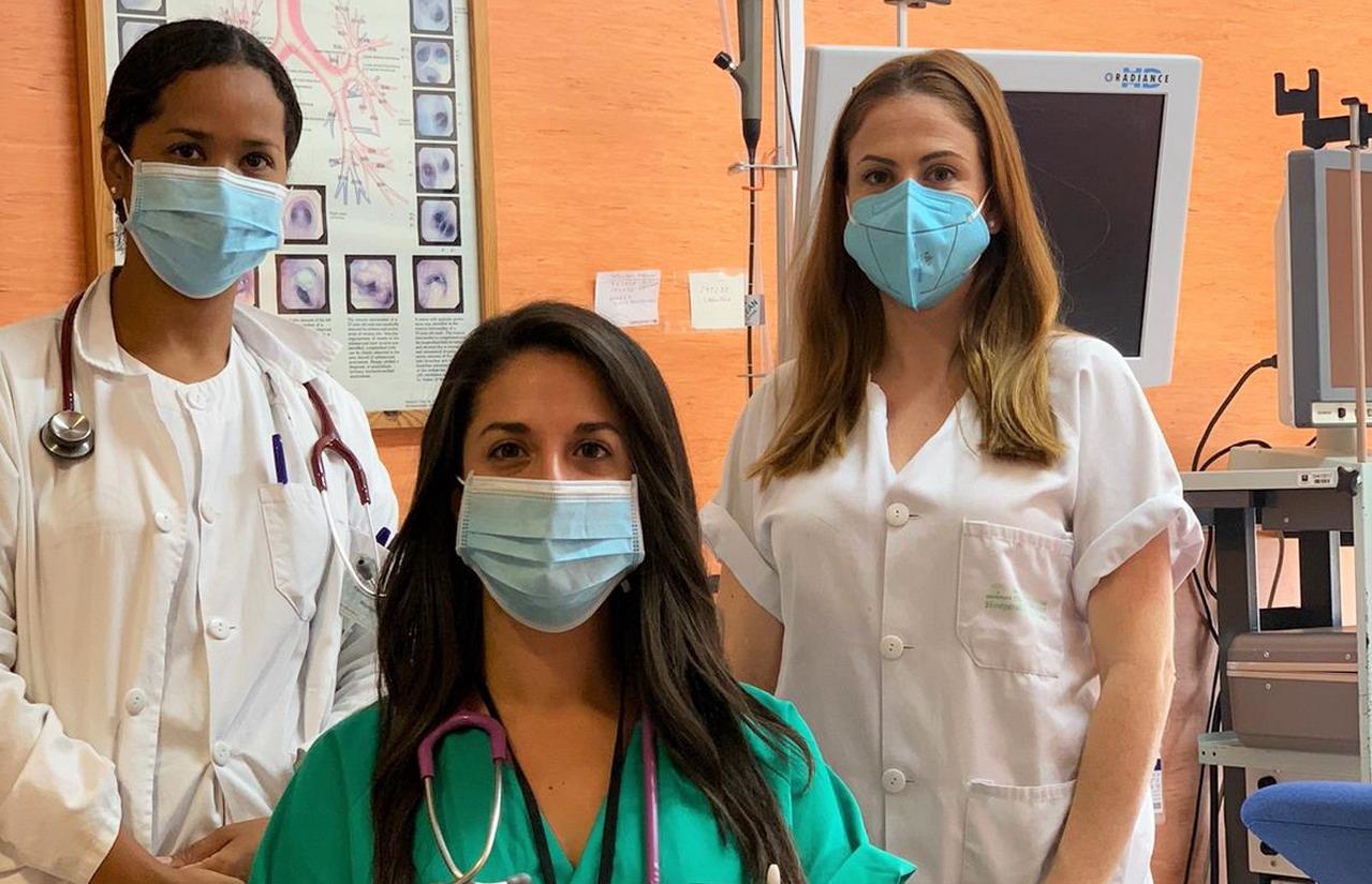 La Unidad de Neumología del Infanta Elena recibe el premio a la mejor comunicación en el Congreso Andaluz de Neumosur