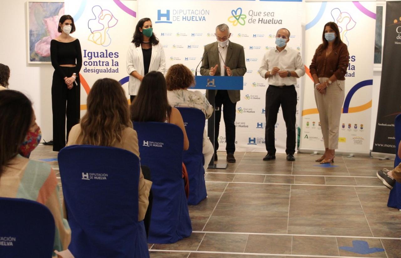 Diez municipios del Condado de Huelva se unen contra la violencia de género hasta el 8 de marzo de 2021