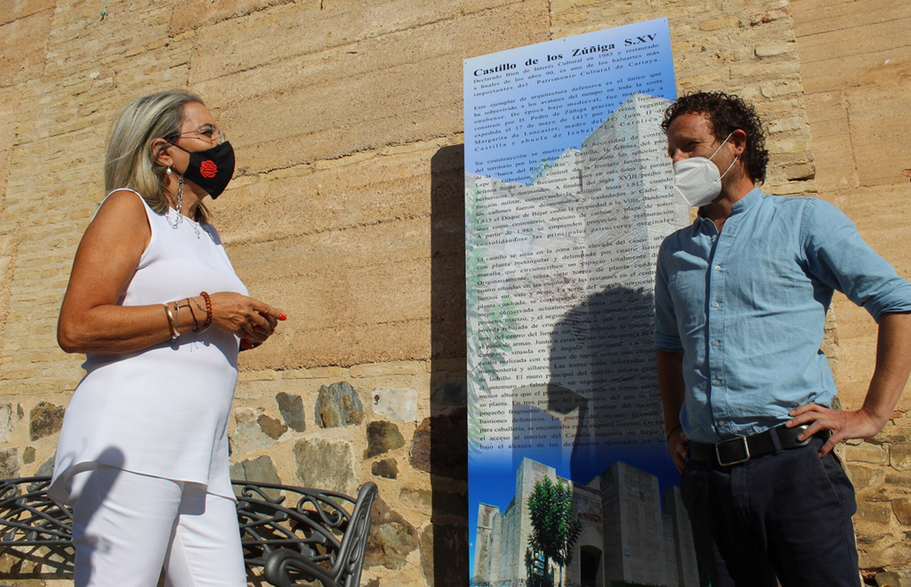 51 paneles informativos turísticos para divulgar la historia de Cartaya, El Rompido y Nuevo Portil