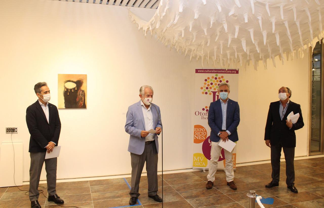 La Sala de la Provincia se convierte en 'Espacio de confluencias' de la mano del Otoño Cultural Iberoamericano