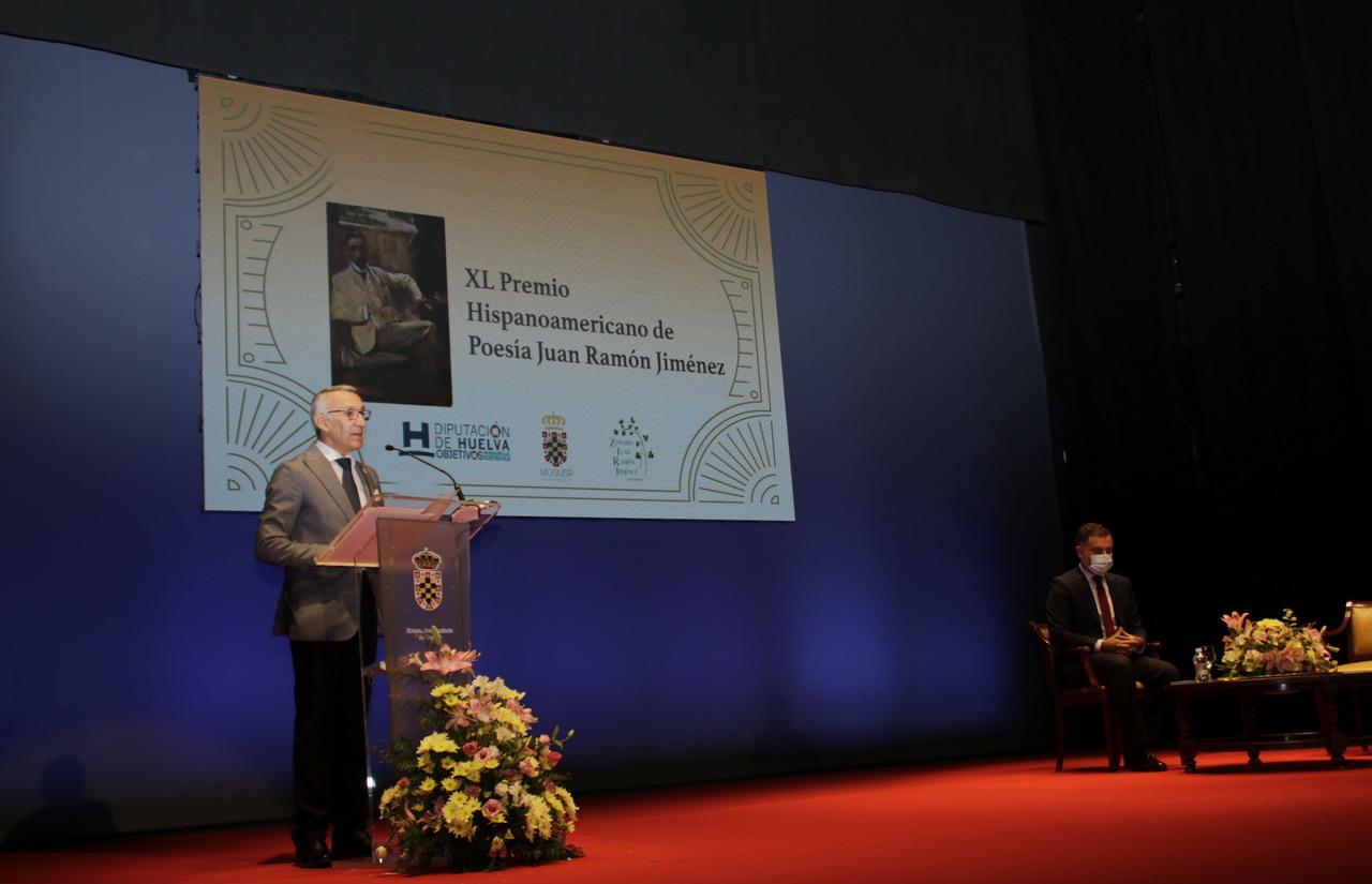 El mexicano Margarito Cuéllar recibe el XL Premio Juan Ramón Jiménez de Poesía por 'Nadie, salvo el mundo'