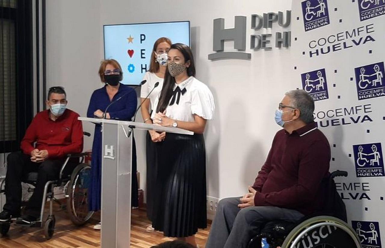 Diputación ratifica su compromiso con Cocemfe Huelva