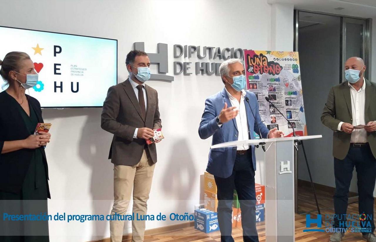 Cita con la programación cultural Luna de Otoño y sus propuestas teatrales, literarias y musicales en Moguer y Mazagón