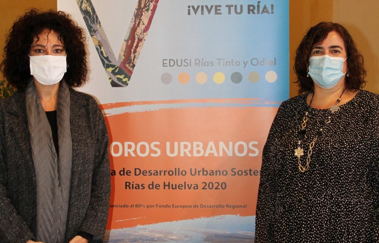 Diputación inicia en Gibraleón los Foros Urbanos de consulta y participación sobre la EDUSI Vive tu Ría- Rías de Huelva 2020