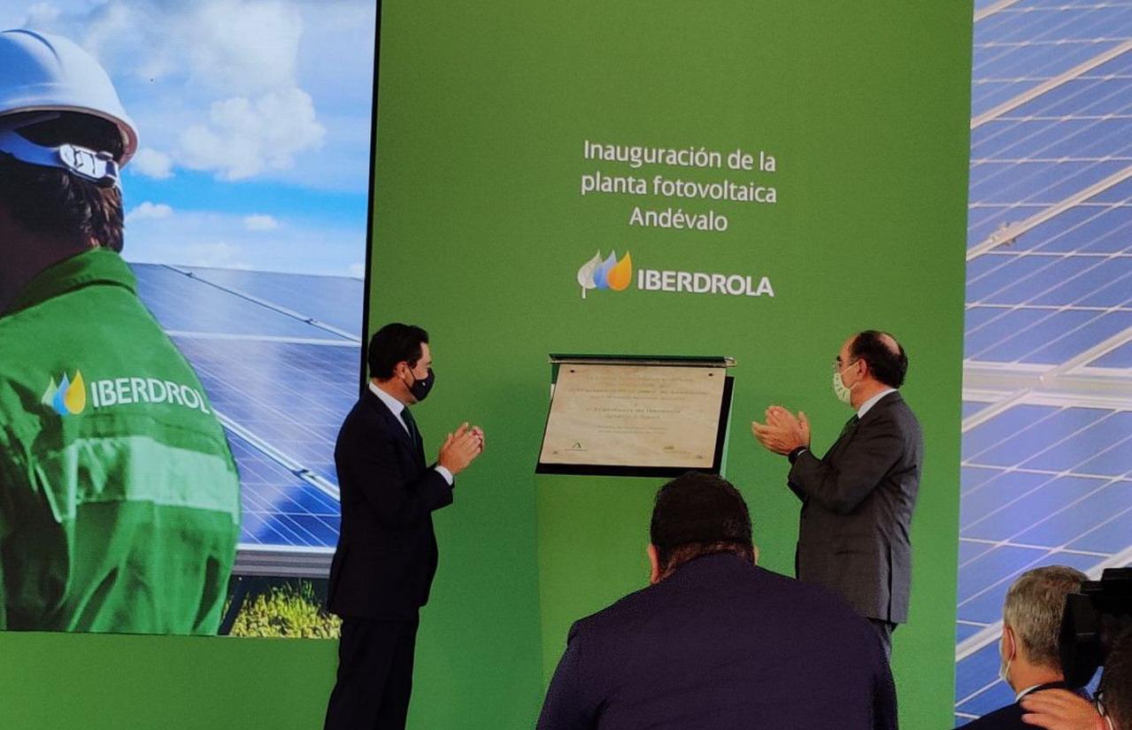 Puebla de Guzmán acoge la primera plata fotovoltaica de Iberdrola en Andalucía