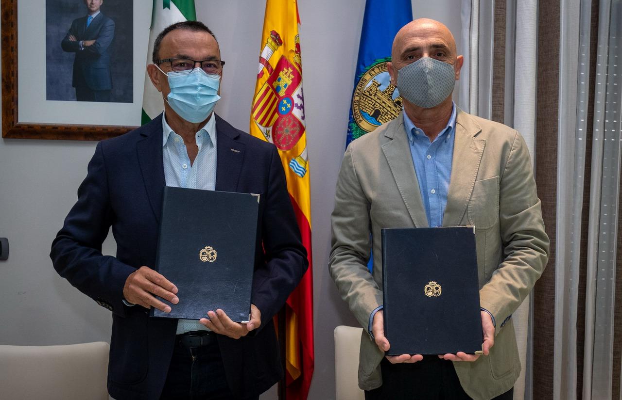 Diputación y Fundación Cepsa renuevan su compromiso para el fomento del patrimonio cultural del entorno de La Rábida