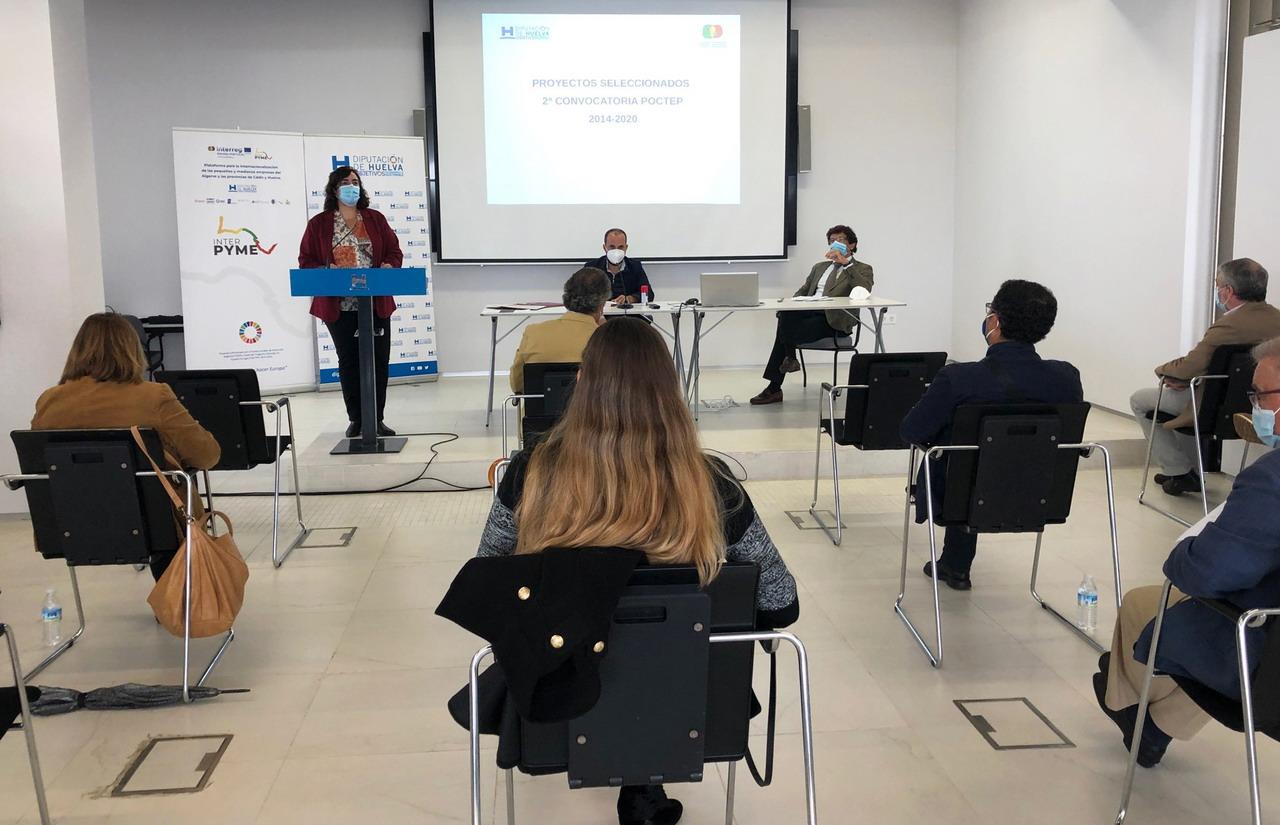 Empresas del sector turístico, agroalimentario y pesquero comparten experiencia en el marco del proyecto Interpyme de Diputación