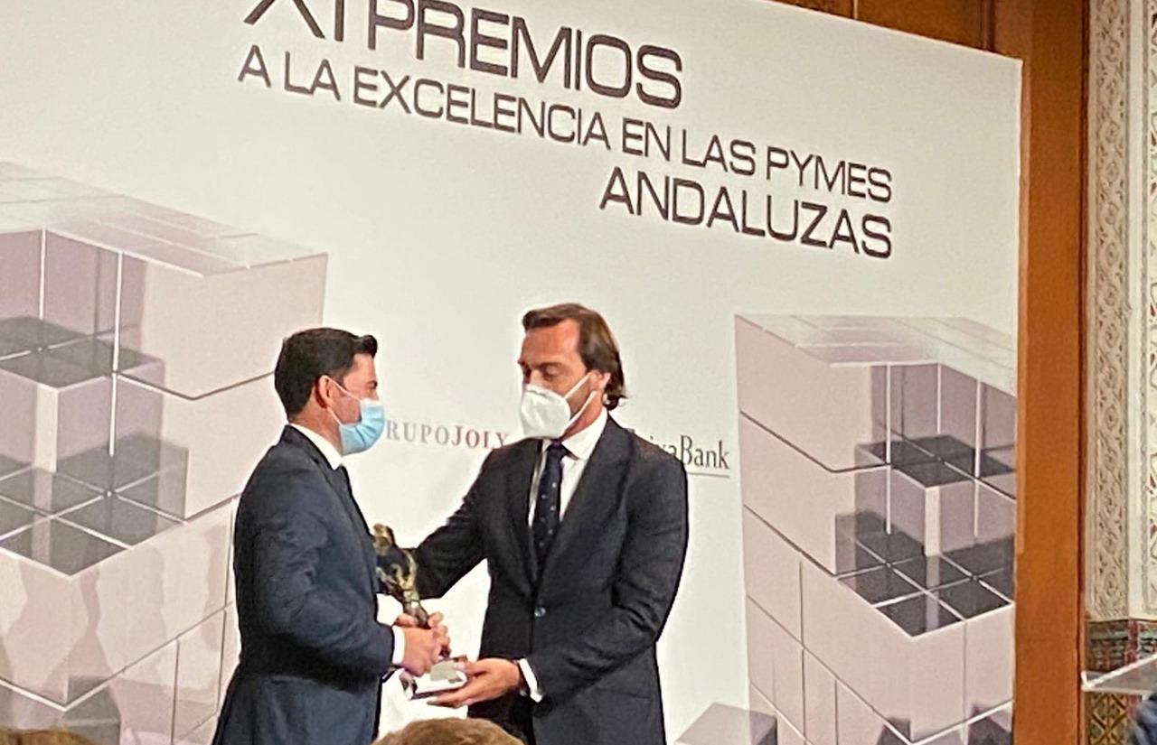 Agromartín Premio a la Excelencia en las Pymes Andaluzas