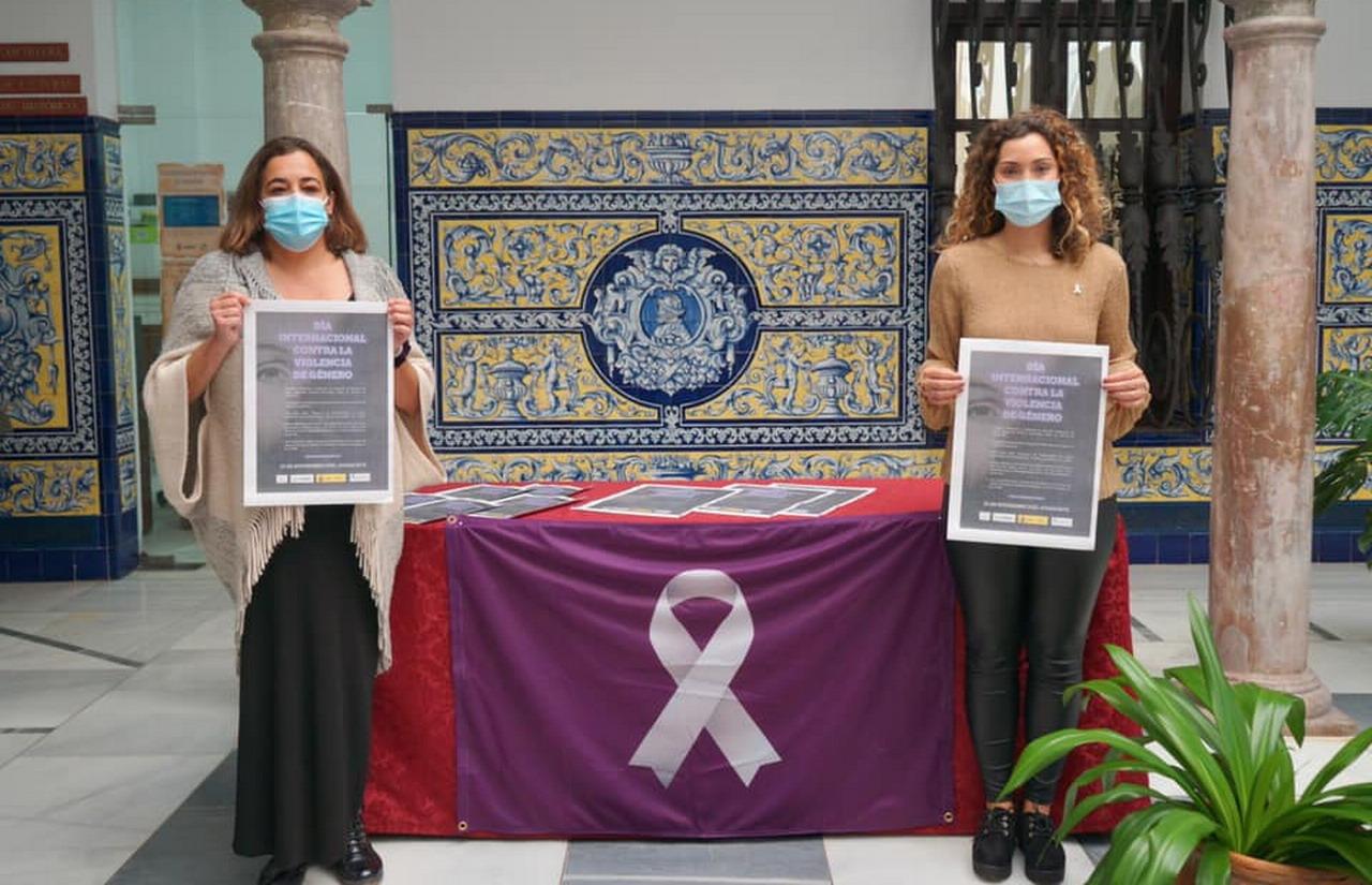 Ayamonte presenta su campaña del Día Internacional contra la Violencia de Género