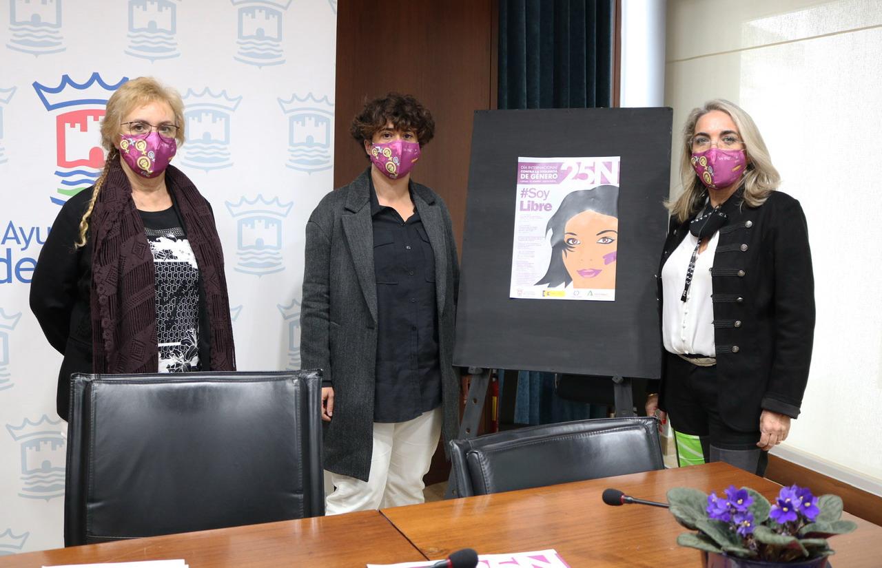 Cartaya se vestirá de violeta para trasladar un mensaje de apoyo a las mujeres víctimas de violencia de género con motivo del 25-N