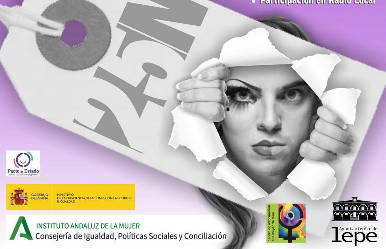 El Ayuntamiento de Lepe conmemora el Día Internacional contra la Violencia de Género 25N bajo el lema «Rompiendo con las etiquetas»