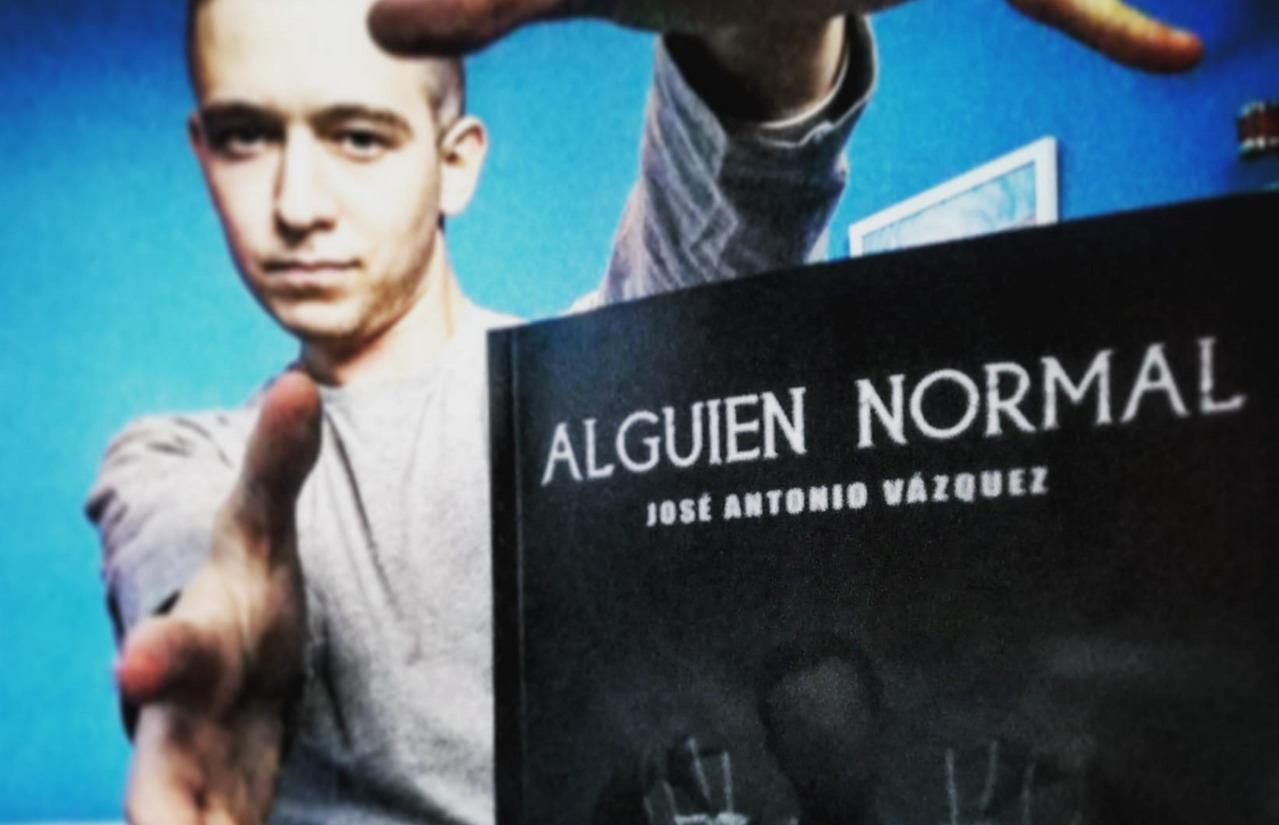 El Cartayero José Antonio Vázquez nos presenta su primera novela «Alguien Normal»