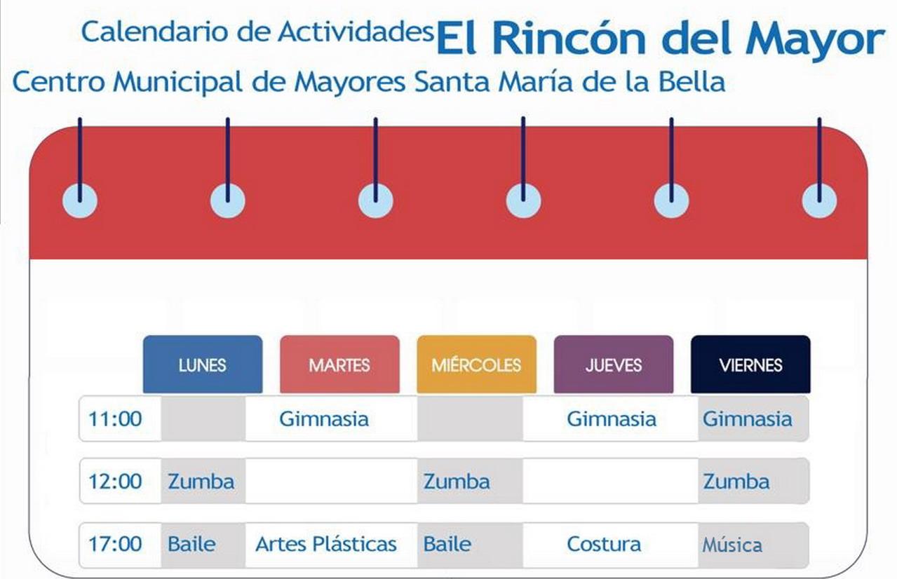 El Centro Municipal de Mayores Santa María de la Bella comienza su programación de actividades que se difundirán a través de redes sociales