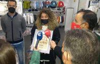 AGELEPE y Ayuntamiento entregan los premios del XI Concurso de Escaparates Navideños