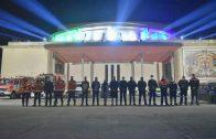 Lepe despide el año haciendo un homenaje a las fuerzas y cuerpos de Seguridad, a los sanitarios y a las víctimas de la pandemia