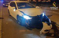 La Guardia Civil detiene a tres personas en relación a una carrera de coches clandestina en la localidad de Isla Cristina