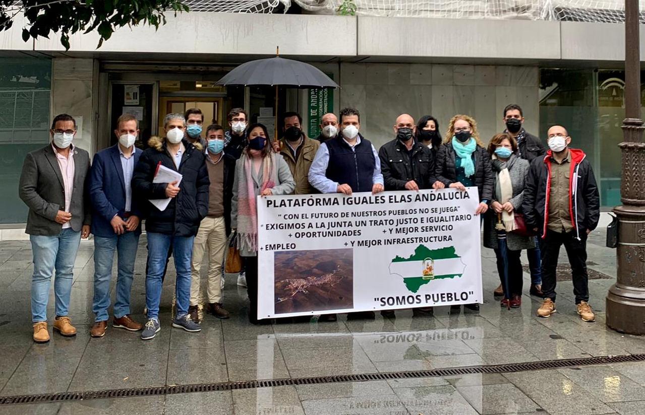 La Redondela se une a las reclamaciones de las ELAs andaluzas en Sevilla