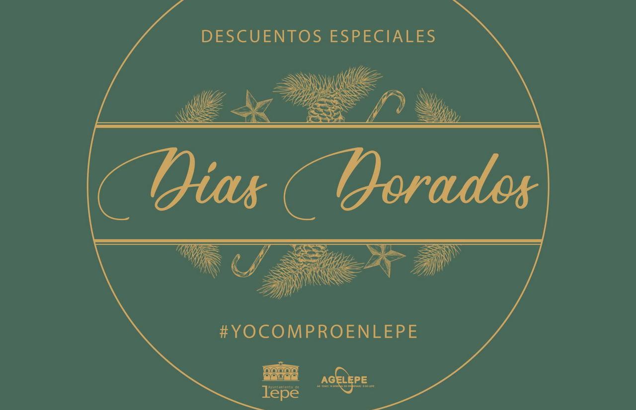 Lepe presenta la campaña «Días Dorados» como reactivación y apoyo al comercio local