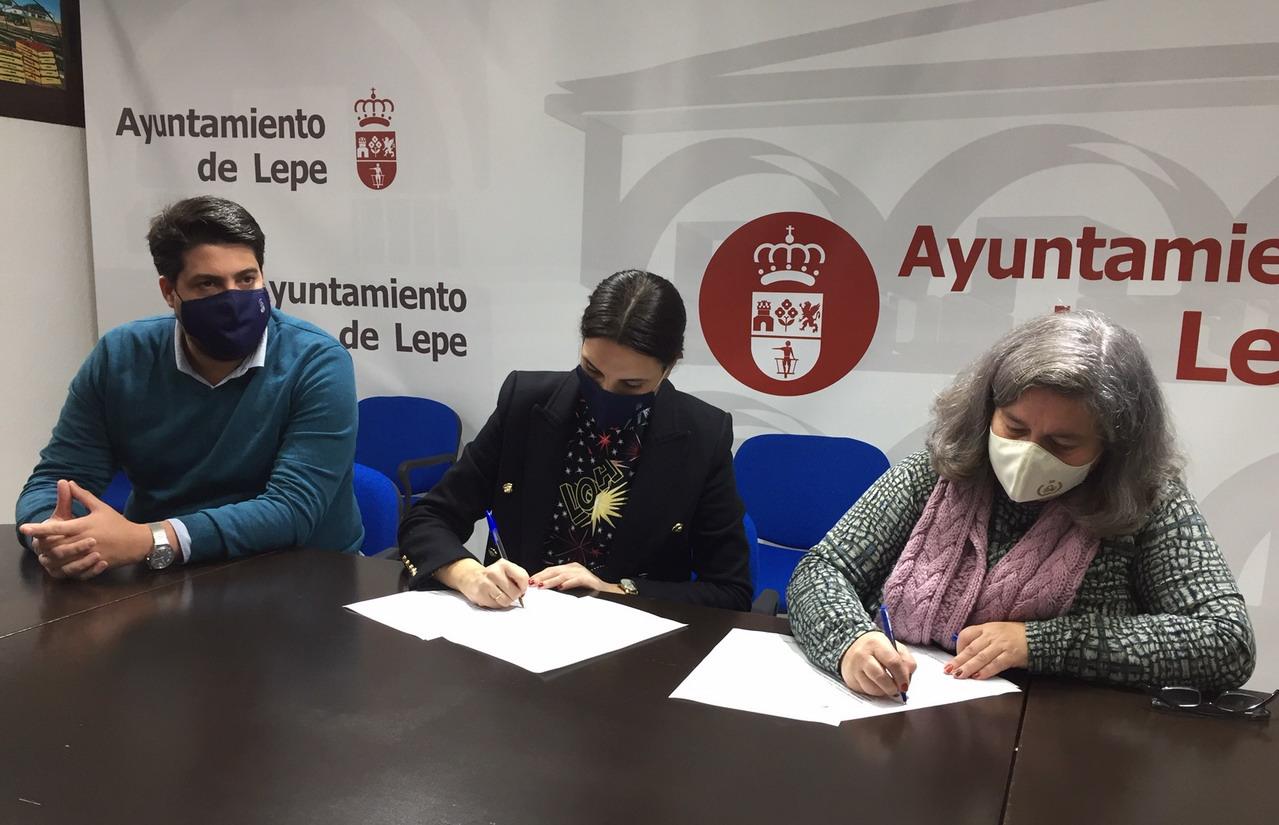 Ayuntamiento y Hdad. de los Dolores firman un protocolo de colaboración con motivo de la celebración de su centenario