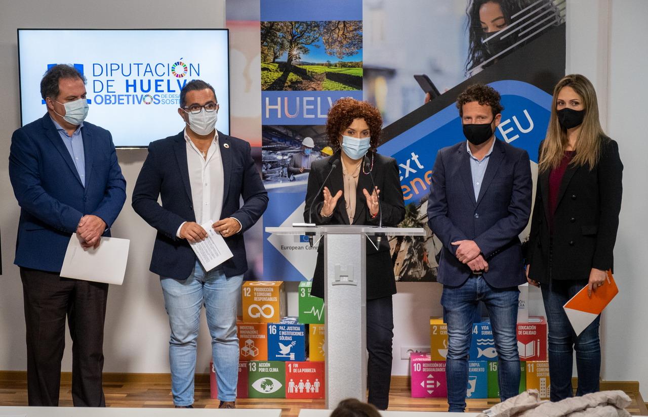 La Diputación de Huelva recepciona más de 650 proyectos para la recuperación de los municipios onubenses