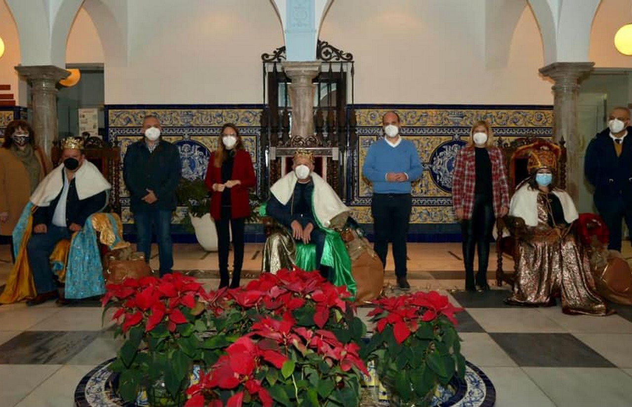 Los Reyes Magos visitarán a todos los niños y niñas de Ayamonte