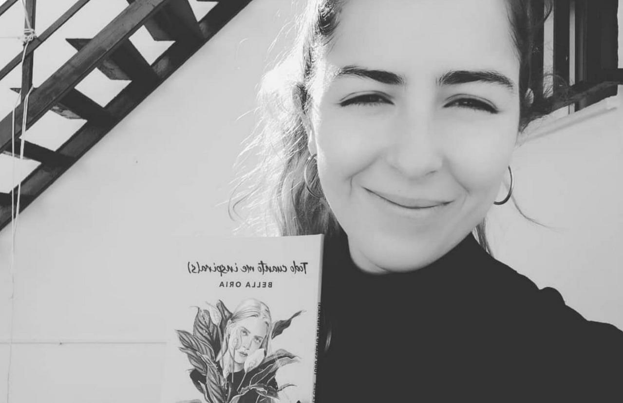 «Todo cuanto me inspira(s)», primer poemario de la periodista lepera Bella Oria