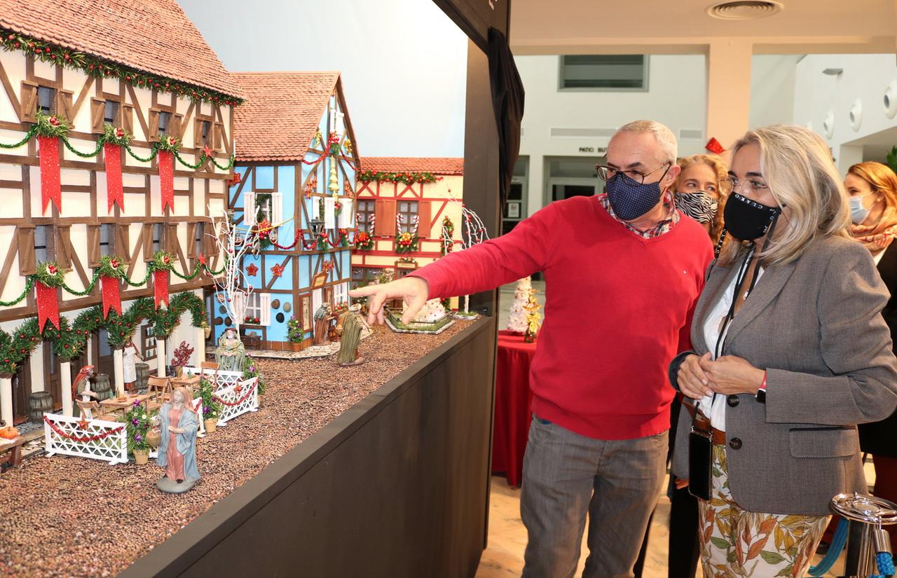 El Belén Municipal y el encendido del alumbrado dan el pistoletazo de salida a las actividades navideñas en Cartaya