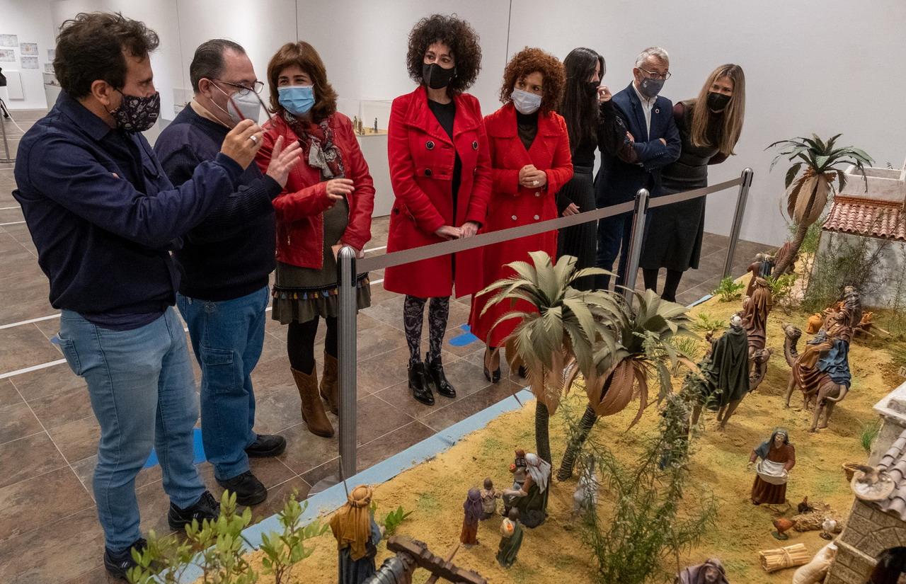 Diputación inaugura su tradicional Belén y felicita a la provincia con un Christmas lleno de esperanza para el 2021