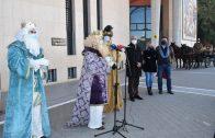 Los Reyes Magos de Oriente ya han recogido las llaves de la ciudad en Lepe