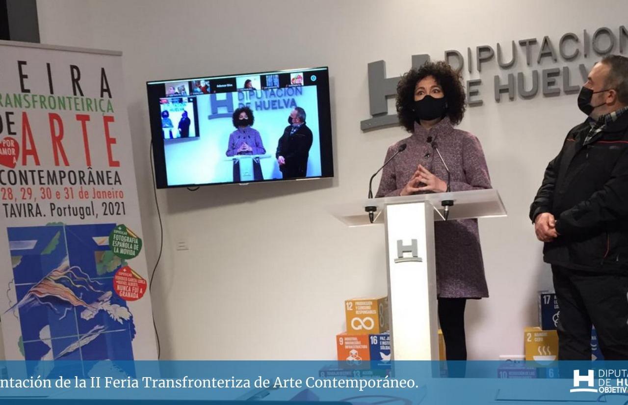 La II Feria Transfronteriza de Arte Contemporáneo se celebrará en 2021 de manera online