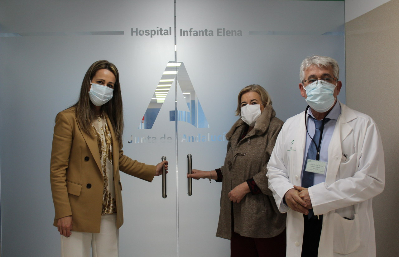 El Hospital Infanta Elena invierte cerca de 2 millones de euros para mejorar sus instalaciones y hacer frente a la pandemia