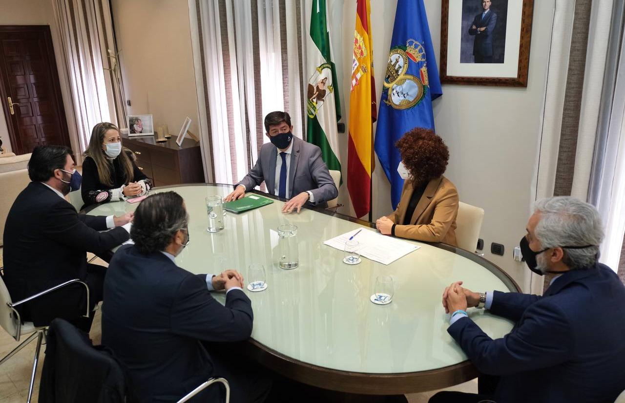Marín anuncia el incremento de la aportación de la Junta al PFEA un 15%, hasta alcanzar los 62 millones