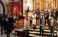 El Ayuntamiento realiza su ofrenda floral al Patrón de Cartaya en el Día de San Sebastián