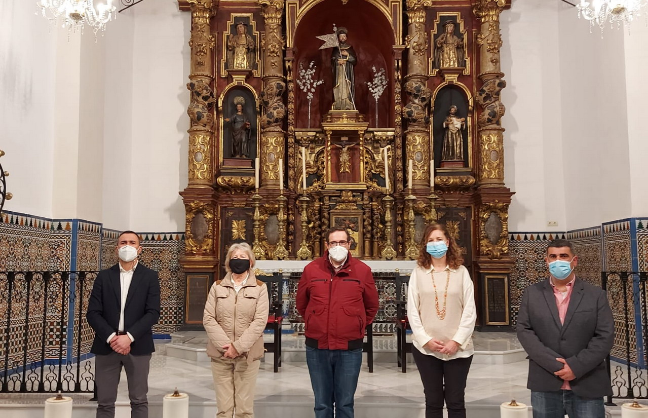 Comienza la restauración del retablo del Altar Mayor de Santo Domingo de Guzmán