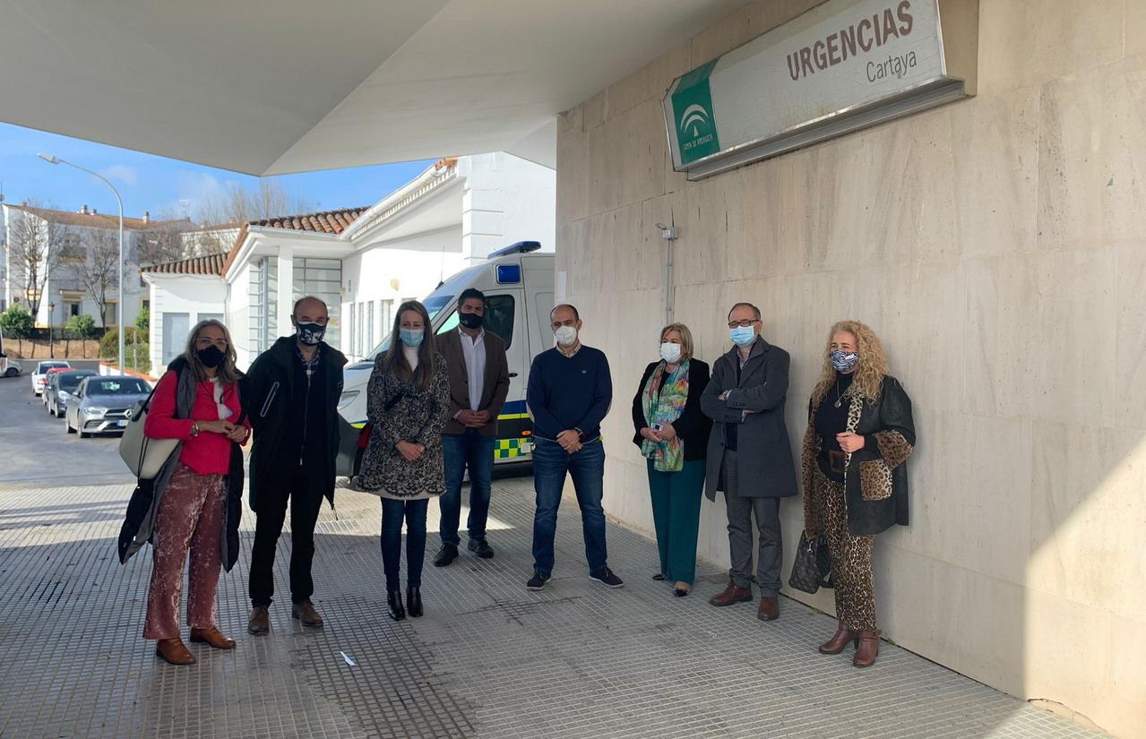 La Junta invierte 194.000 euros en las obras de mejora del centro de salud de Cartaya
