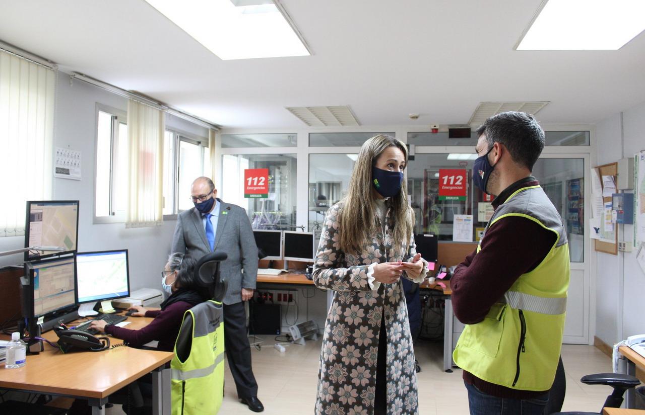 Veinte años del servicio de emergencias 112 en la provincia de Huelva