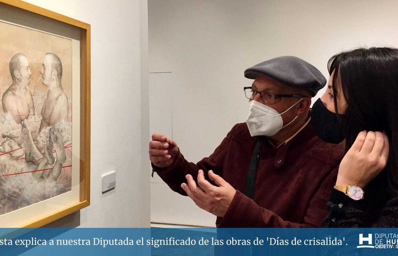 Faustino Rodríguez presenta «Días de Crisálida»