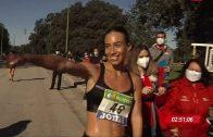 Laura García-Caro Bronce en el Nacional de 35 km marcha