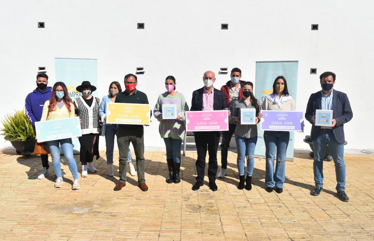 Ayuntamiento, AGELEPE y empresarios del municipio presentan la campaña «Esta primavera: Comprar en Lepe tiene premio»