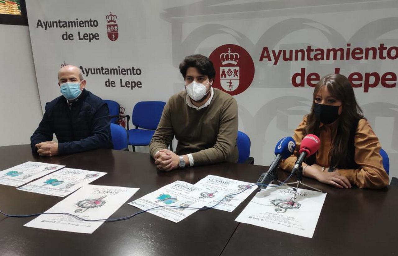 Cultura presenta el VIII Concierto Cofrade Solidario que ofrecerá la Banda Sinfónica Municipal de Lepe a beneficio de Cáritas y el Comedor Social