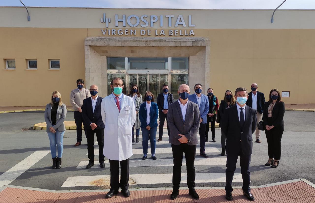 El Alcalde de Lepe se congratula por el concierto del Hospital Virgen Bella como centro público